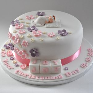 Christening and Baby Shower Cakes